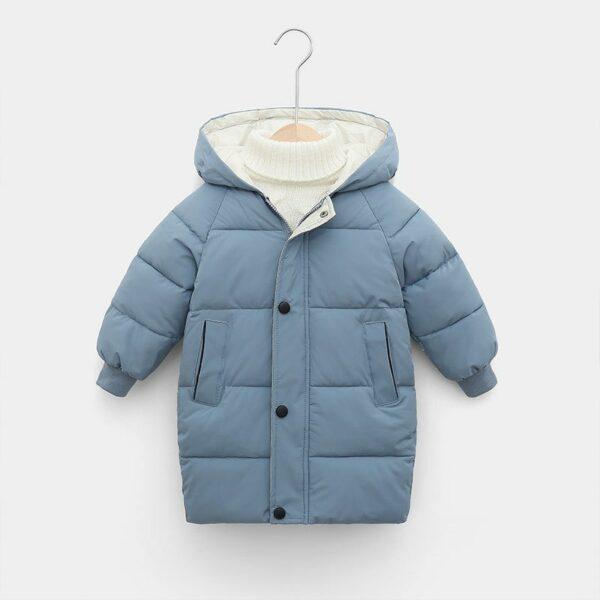 Manteau Blanc Chaud Enfant 4 | Soirée Blanche