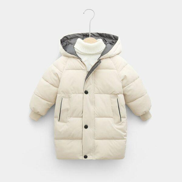 Manteau Blanc Chaud Enfant 1 | Soirée Blanche
