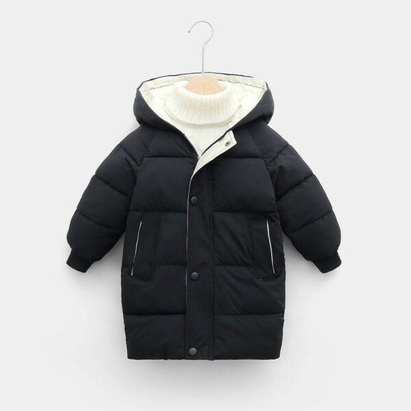 Manteau Blanc Chaud Enfant 7 | Soirée Blanche