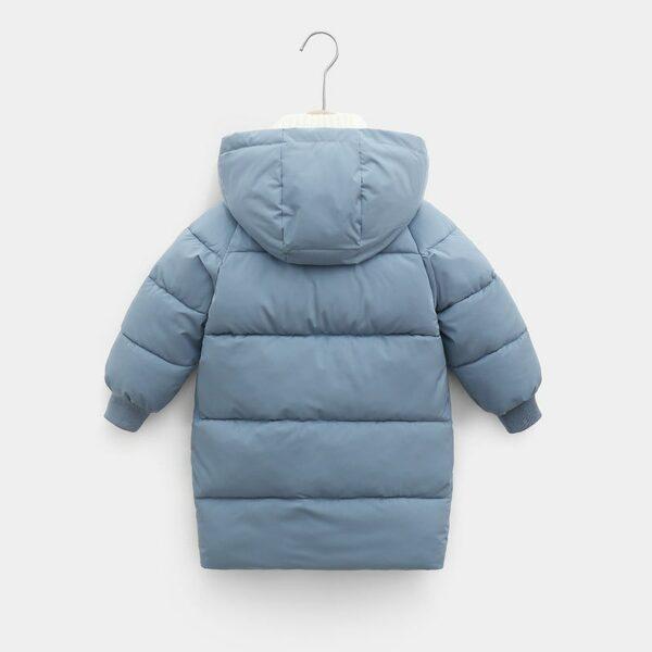 Manteau Blanc Chaud Enfant 5 | Soirée Blanche