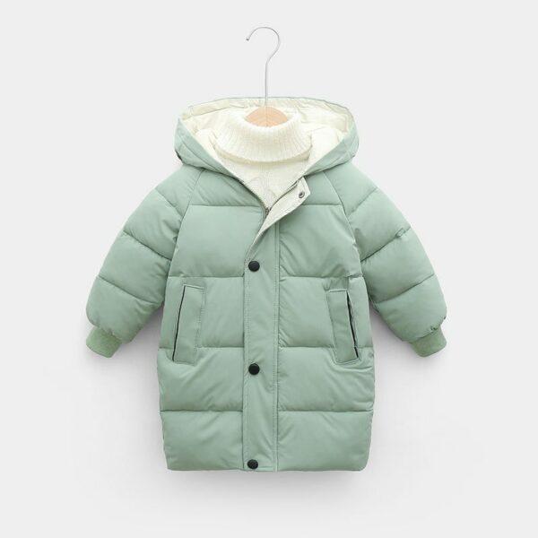 Manteau Blanc Chaud Enfant 9 | Soirée Blanche