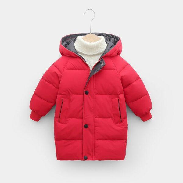 Manteau Blanc Chaud Enfant 8 | Soirée Blanche