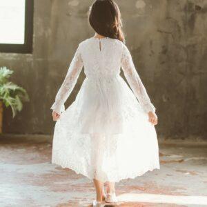 Robe Blanche Communion Fille 18   Soirée Blanche