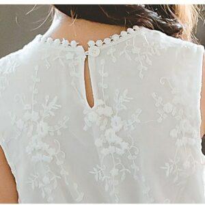 Robe Blanche Communion Fille 23   Soirée Blanche