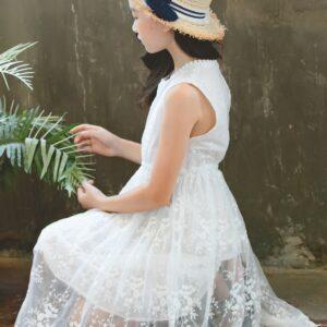 Robe Blanche Communion Fille 20   Soirée Blanche