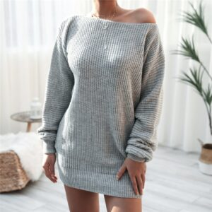 Robe Pull Blanche