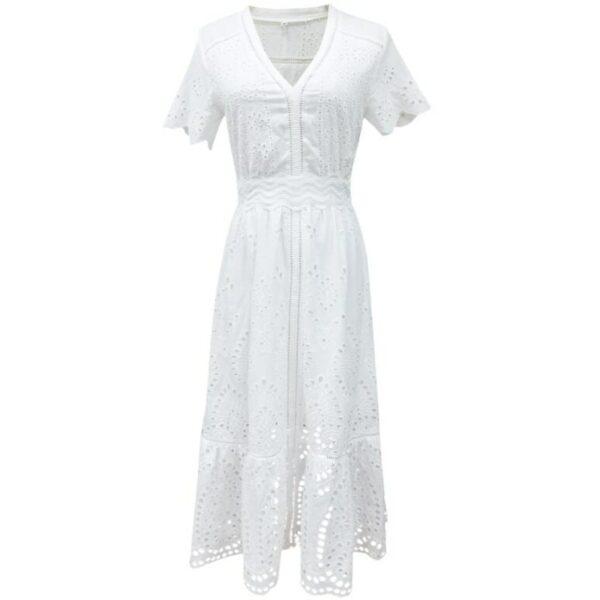 Robe Blanche Bohème Chic 7 | Soirée Blanche