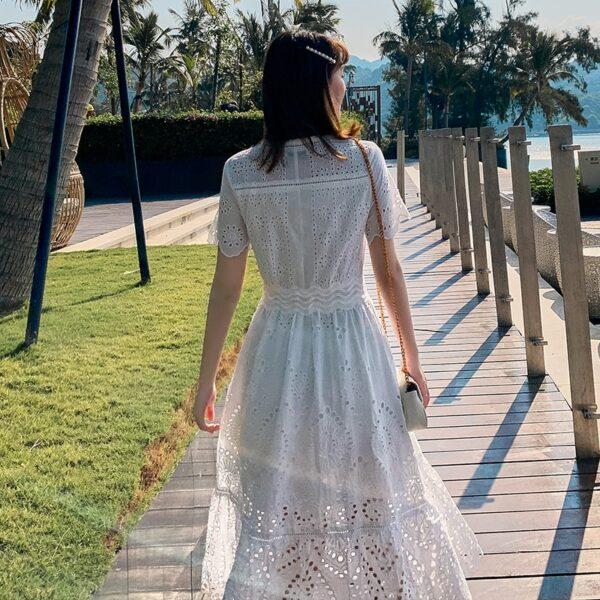 Robe Blanche Bohème Chic 5 | Soirée Blanche