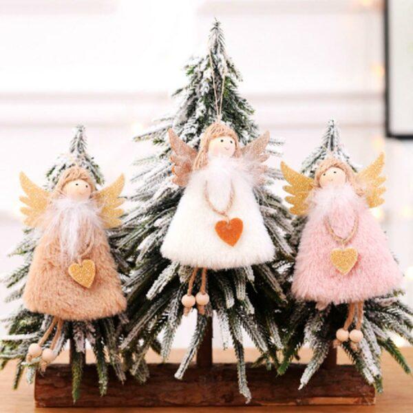 Ange Blanc Sapin De Noël 4 | Soirée Blanche