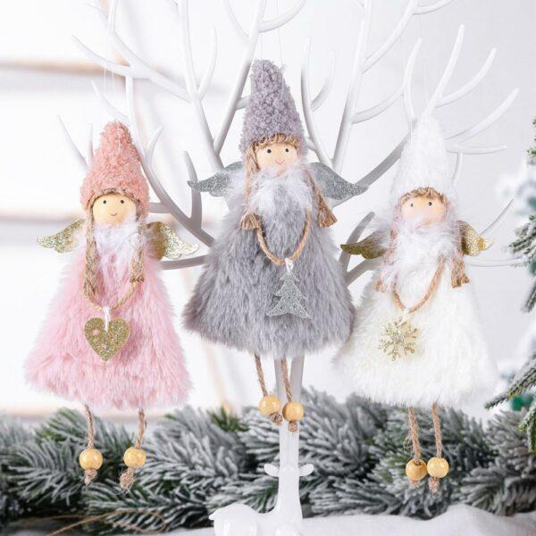 Ange Blanc Sapin De Noël 5 | Soirée Blanche