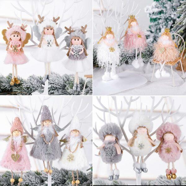 Ange Blanc Sapin De Noël 3 | Soirée Blanche