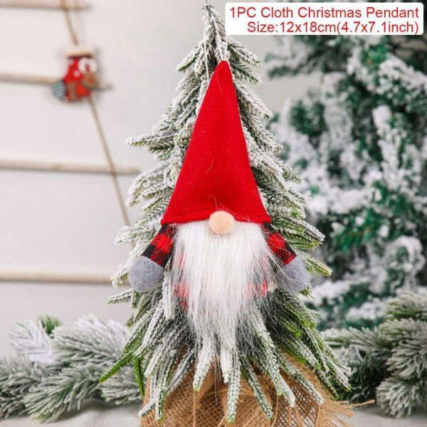 Ange Blanc Sapin De Noël 12 | Soirée Blanche