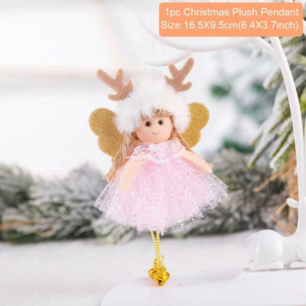 Ange Blanc Sapin De Noël 17 | Soirée Blanche