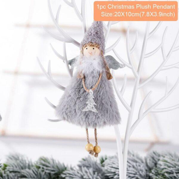 Ange Blanc Sapin De Noël 23 | Soirée Blanche