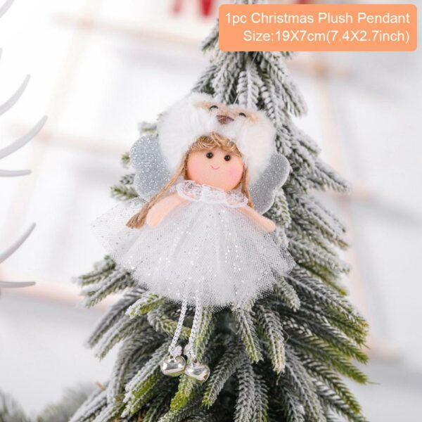 Ange Blanc Sapin De Noël 26 | Soirée Blanche