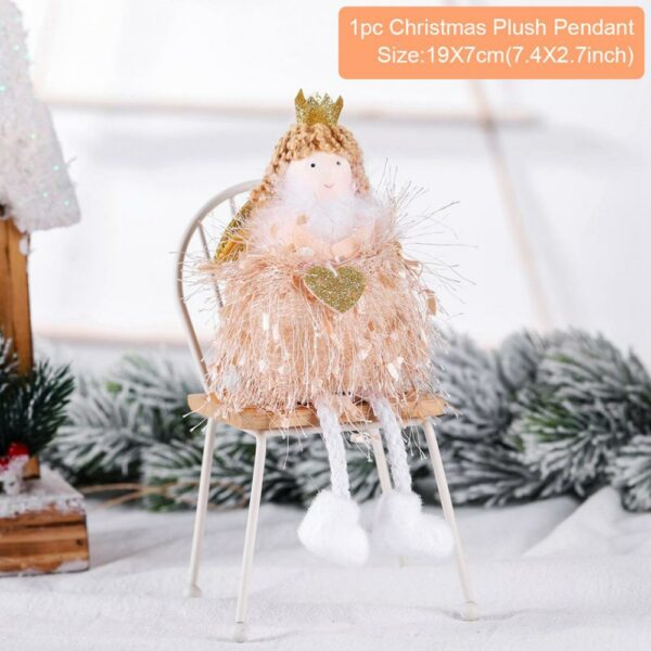 Ange Blanc Sapin De Noël 27 | Soirée Blanche