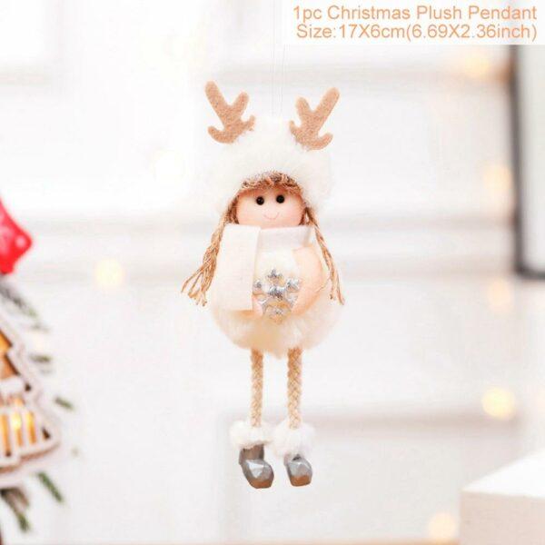Ange Blanc Sapin De Noël 30 | Soirée Blanche