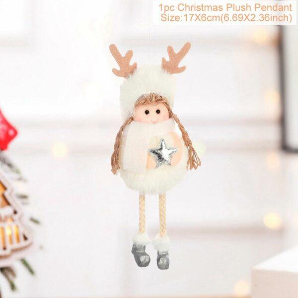 Ange Blanc Sapin De Noël 31 | Soirée Blanche
