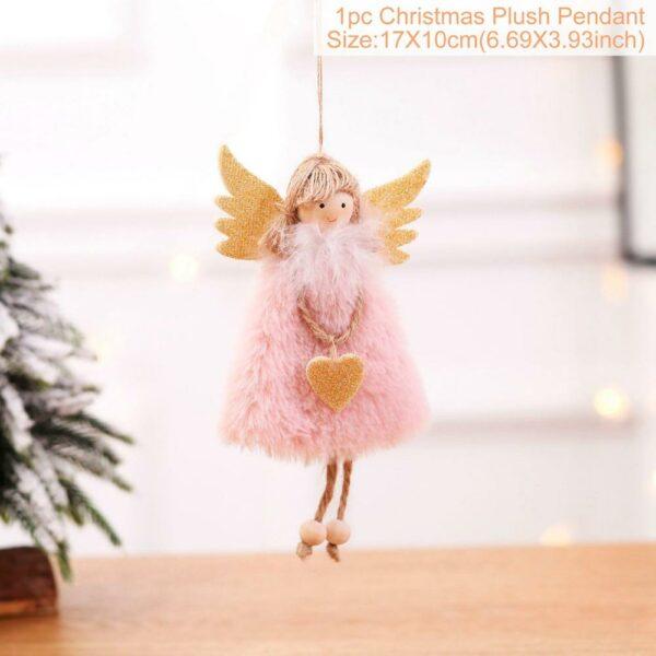 Ange Blanc Sapin De Noël 32 | Soirée Blanche
