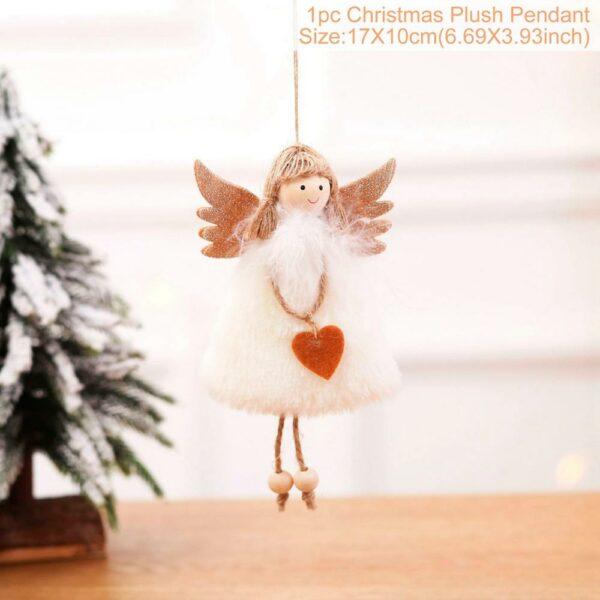 Ange Blanc Sapin De Noël 33 | Soirée Blanche