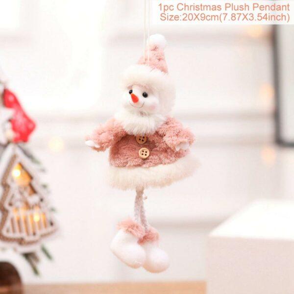 Ange Blanc Sapin De Noël 36 | Soirée Blanche