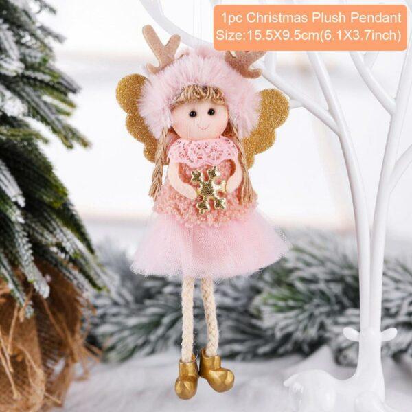 Ange Blanc Sapin De Noël 37 | Soirée Blanche