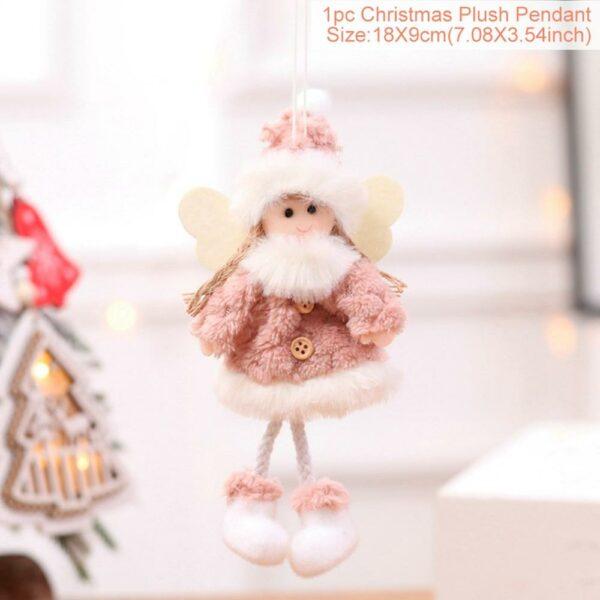 Ange Blanc Sapin De Noël 38 | Soirée Blanche