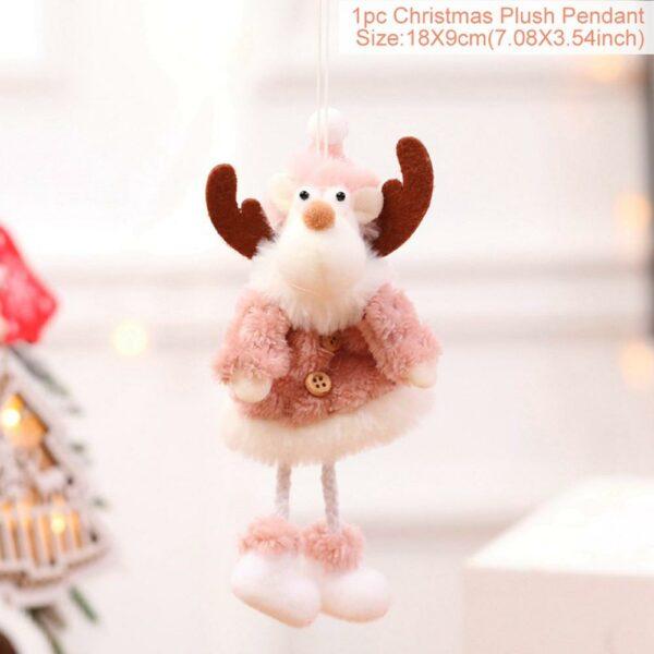 Ange Blanc Sapin De Noël 39 | Soirée Blanche