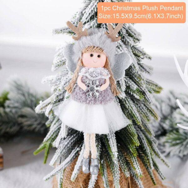 Ange Blanc Sapin De Noël 40 | Soirée Blanche