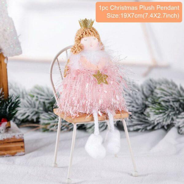 Ange Blanc Sapin De Noël 42 | Soirée Blanche