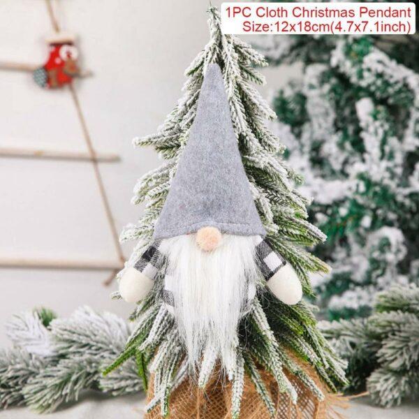 Ange Blanc Sapin De Noël 13 | Soirée Blanche