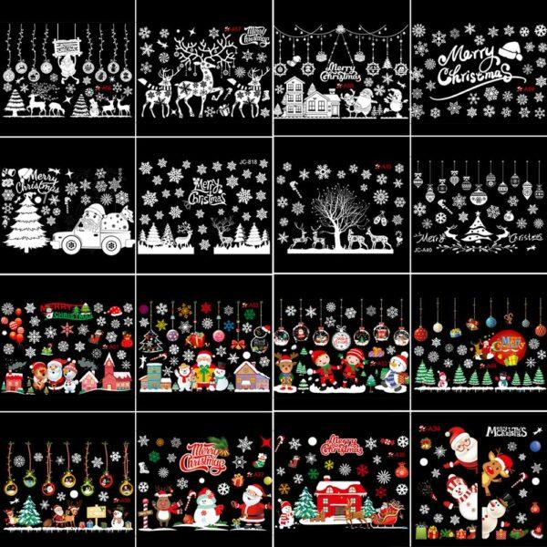 Stickers Noël Blanc 8 | Soirée Blanche