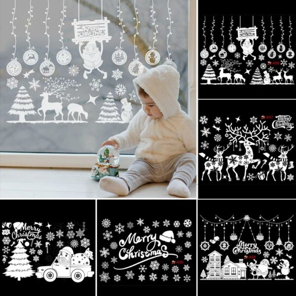 Stickers Noël Blanc 3 | Soirée Blanche