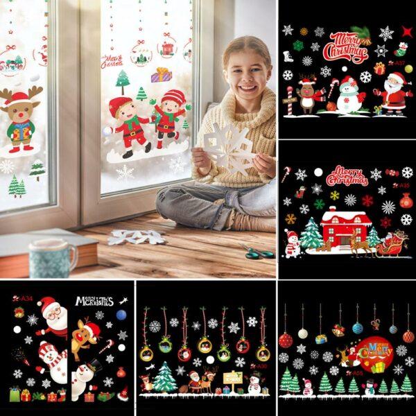 Stickers Noël Blanc 7 | Soirée Blanche