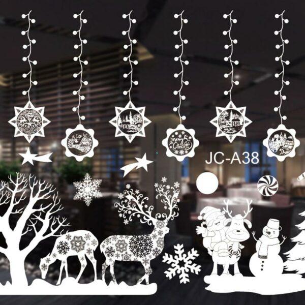 Stickers Noël Blanc 4 | Soirée Blanche
