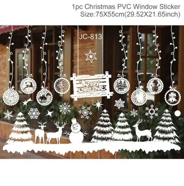 Stickers Noël Blanc 11 | Soirée Blanche