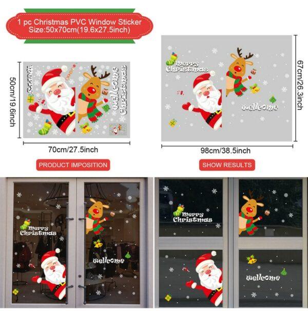 Stickers Noël Blanc 17 | Soirée Blanche