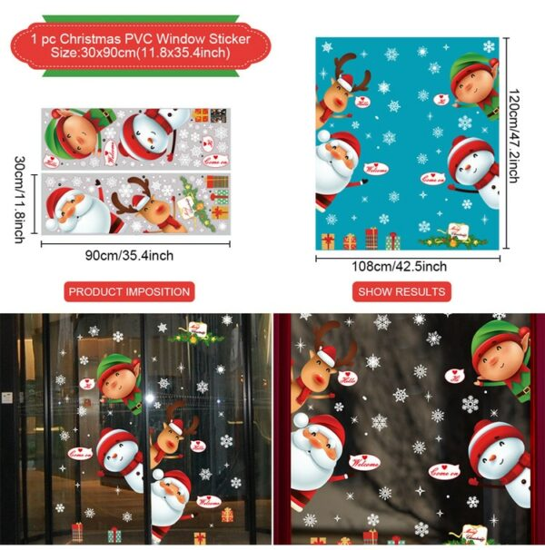 Stickers Noël Blanc 19 | Soirée Blanche