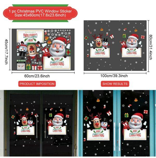 Stickers Noël Blanc 20 | Soirée Blanche
