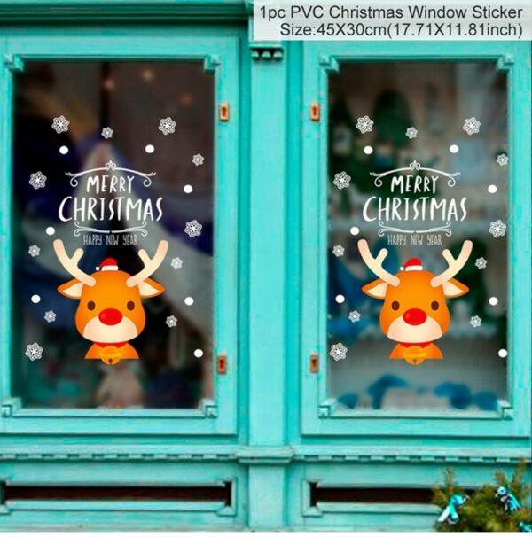 Stickers Noël Blanc 21 | Soirée Blanche