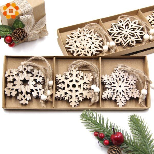 Flocon De Neige Blanc Sapin De Noël 2   Soirée Blanche