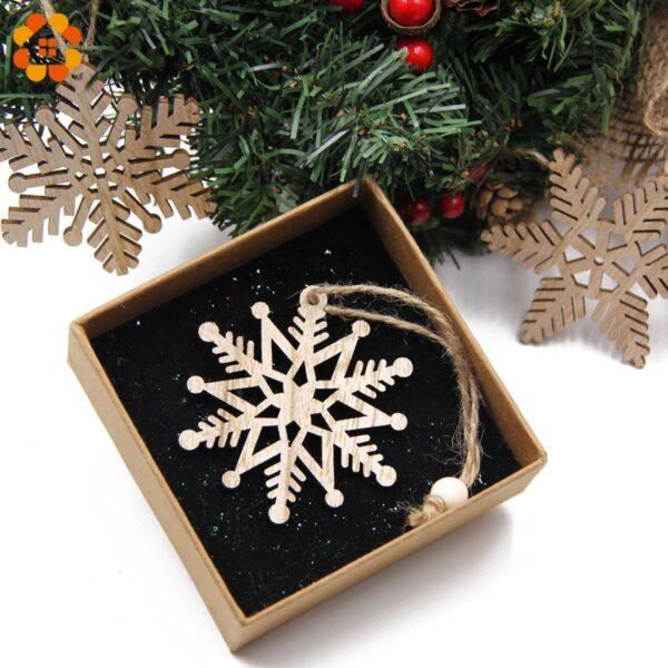 Flocon De Neige Blanc Sapin De Noël 5   Soirée Blanche