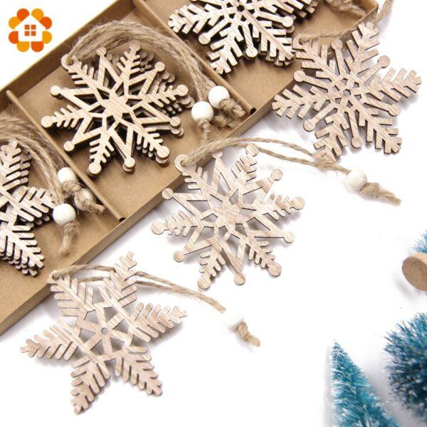 Flocon De Neige Blanc Sapin De Noël 3   Soirée Blanche