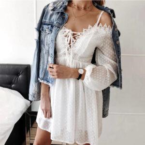 Robe Bohème Blanche | Soirée Blanche