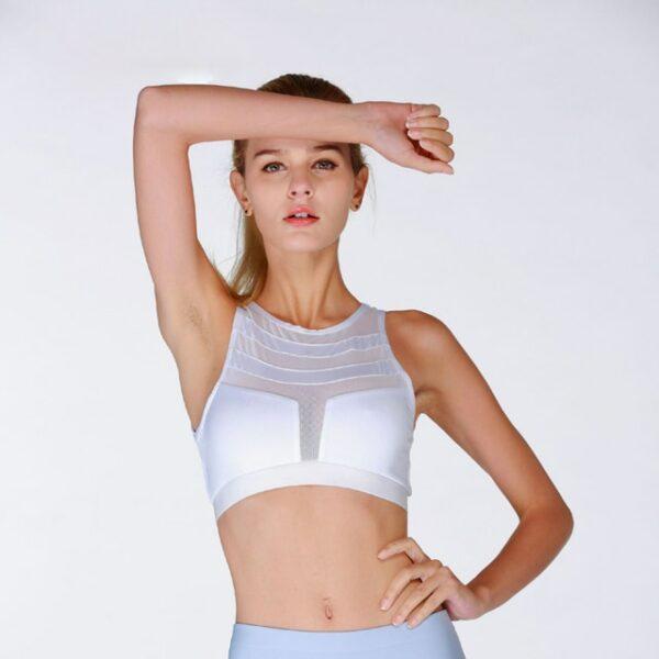 Ensemble Sport Blanc Femme 10 | Soirée Blanche