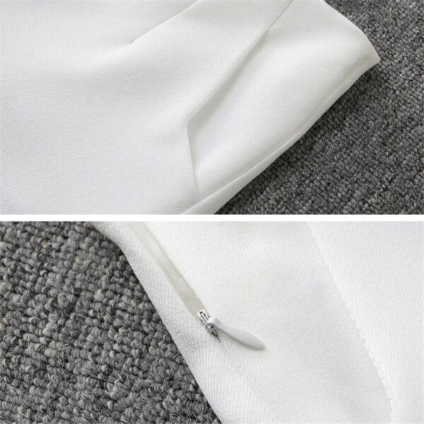 Short Blanc Fluide Femme 6   Soirée Blanche
