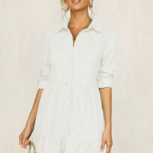 Chemise Robe Blanche 12 | Soirée Blanche