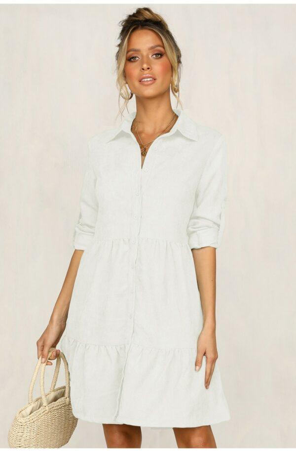 Chemise Robe Blanche 1 | Soirée Blanche
