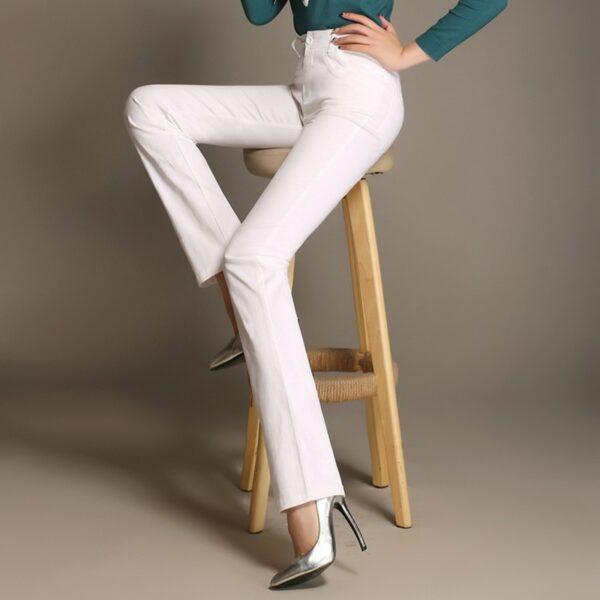 Pantalon Coton Blanc 5 | Soirée Blanche