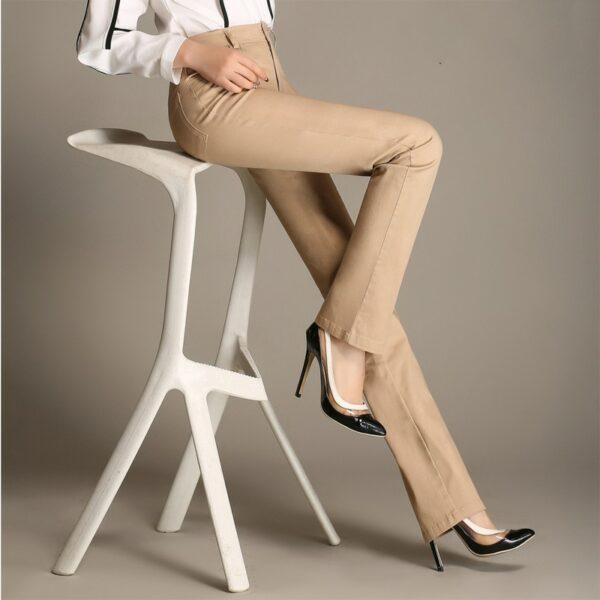 Pantalon Coton Blanc 4 | Soirée Blanche